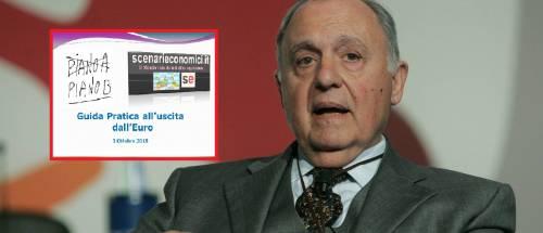 """""""Guida pratica per uscire dall'euro"""". Ecco il piano B di Savona"""