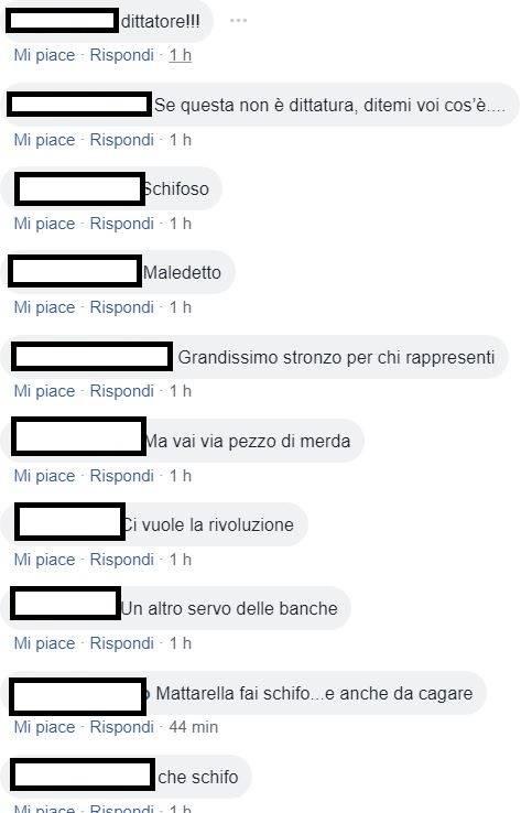 Insulti e minacce di morte sui social a Mattarella 2