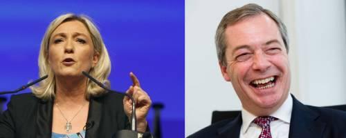 """Le Pen e Farage attaccano Mattarella: """"In Italia un colpo di Stato"""""""