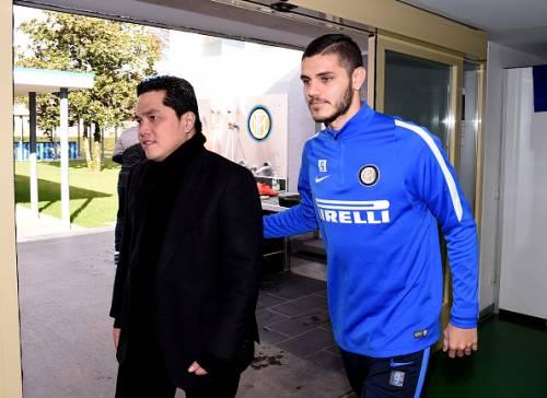 """Thohir alla Juve: """"Icardi può costare fino a 400 milioni"""""""