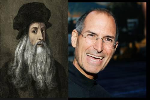 Jobs e Leonardo: due geni che amavano bellezza e scienza