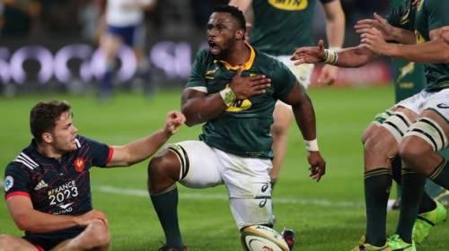 Sud Africa, capitano nero per il rugby