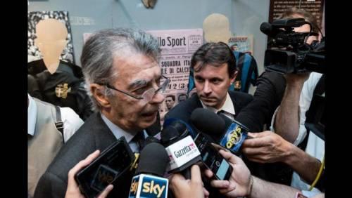 """""""Siluro"""" di Moratti alla Juventus: """"Siete stati eliminati da loro..."""""""
