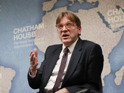 "Il tweet di Verhofstadt in italiano: ""Dobbiamo riformare l'eurozona insieme"""