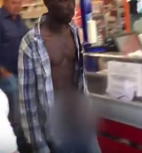 Immigrato nudo per strada va pure al supermercato: arrestato dai carabinieri