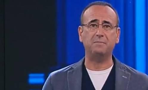 """Carlo Conti ricorda Fabrizio Frizzi: """"Un anno veramente difficile"""""""