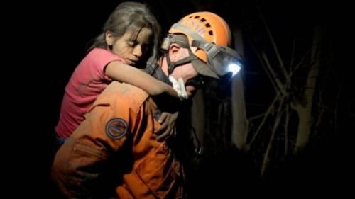 Vulcano Fuego provoca decine di morti in Guatemala