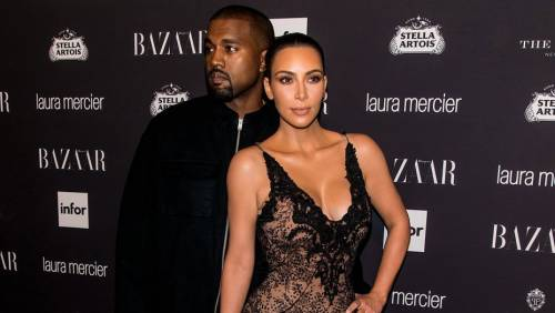 Kim Kardashian senza reggiseno sul red carpet 2