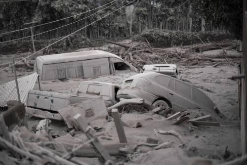 Guatemala come Pompei: intere città sepolte dalla cenere