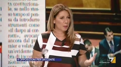 """Gaia Tortora contro Travaglio: """"Il vaffa? Non mi scuso"""""""