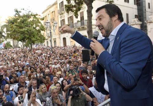 """Salvini: """"La Nato noi la paghiamo: difenda i nostri confini"""""""