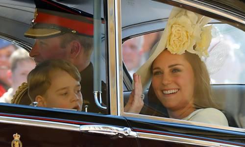 I Principi George e Charlotte in foto 2