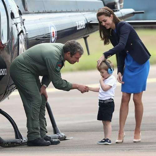 I Principi George e Charlotte in foto 1