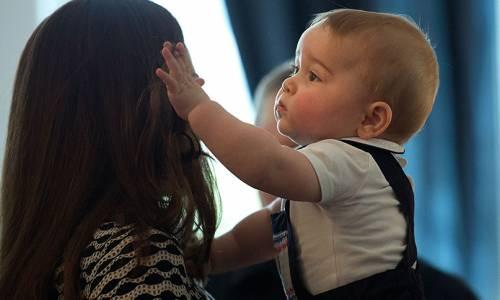 I Principi George e Charlotte in foto 6