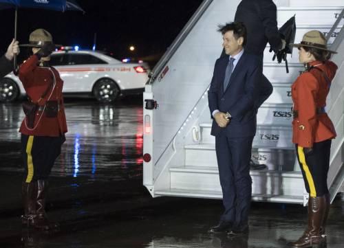 Conte con l'aereo di Stato in Canada 3