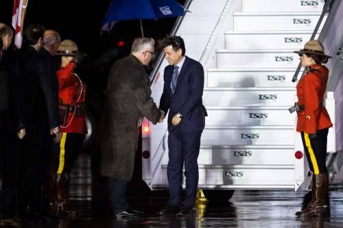 Conte con l'aereo di Stato in Canada 4