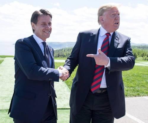 """Trump si congratula con Conte: """"Grande vittoria elettorale"""""""