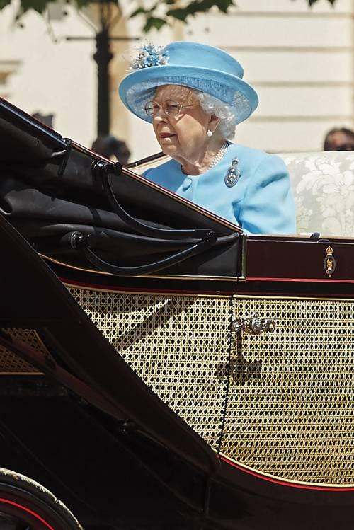 Londra, il compleanno della regina 7