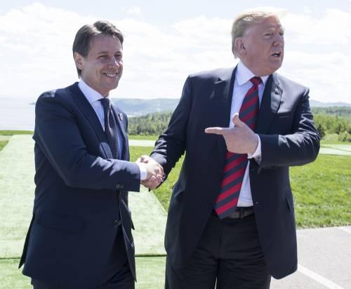 """G7, Conte: """"L'Italia lavora per rimuovere le sanzioni ai russi"""". E Trump twitta: """"Farà un gran lavoro"""""""