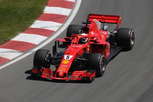 Vettel fa lo Schumi e riporta la Rossa in pole a Montreal