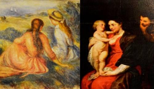 Rubarono quadri di Rubens e Renoir: cinque arresti a Monza