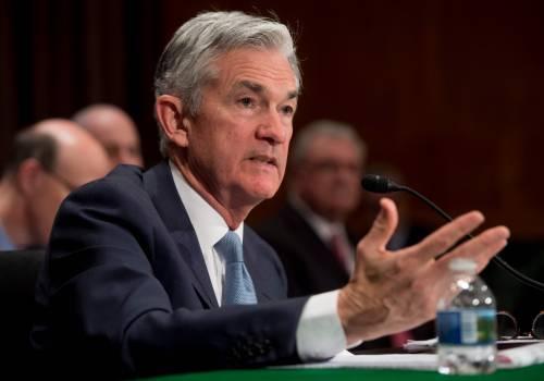 La Fed di Powell cala il poker di tassi