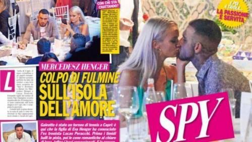 Mercedesz Henger e Lucas Peracchi insieme: è nato un nuovo amore?