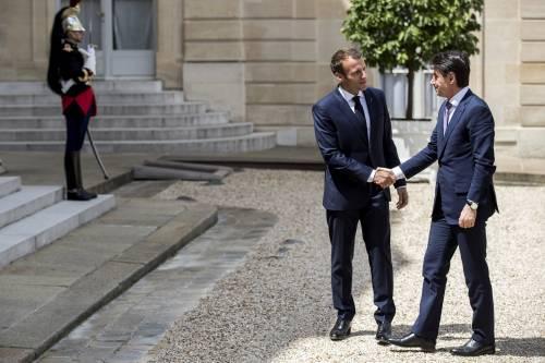 Conte da Macron all'Eliseo 3