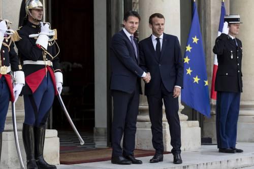 Conte da Macron all'Eliseo 9