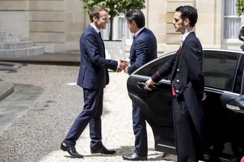 Conte da Macron all'Eliseo 2