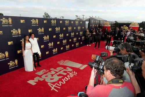 Kim Kardashian sexy agli Mtv Music Awards 2