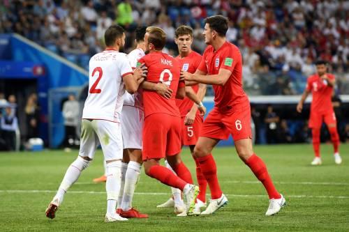 Mondiale 2018, l'Inghilterra piega la Tunisia al 92'. Vittorie per Belgio e Svezia