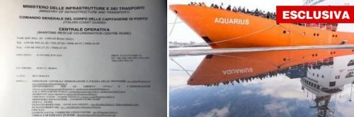 """La prova che Malta ha mentito: """"Sos, fate sbarcare la Aquarius"""""""