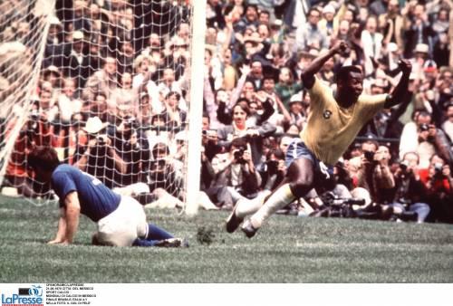 I gol del principe Pelé,  i sei minuti di Rivera e i pomodori ignoranti