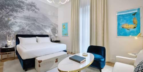 """Nel cuore di Roma un hotel di charme fra arte, design e richiami ai """"grand tour"""""""