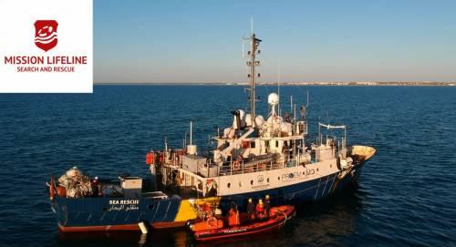 """Il governo ora pressa Malta: """"Faccia attraccare la Lifeline"""""""