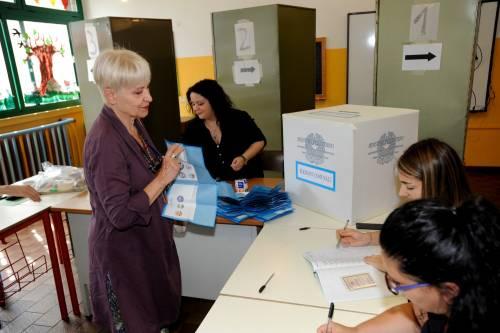 I primi dati dei ballottaggi: alle 19, affluenza al 33,3%