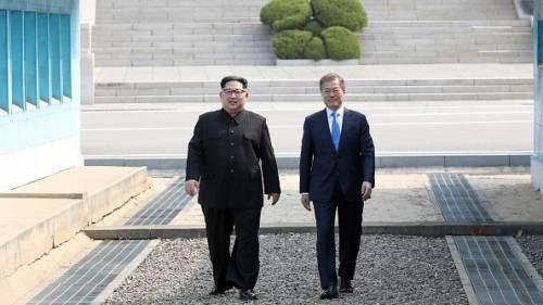 Incontro tra Kim Jong-un e Moon Jae-in