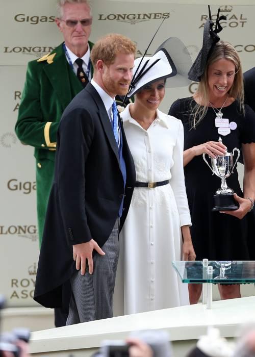 Meghan Markle, felice con il Principe Harry 1