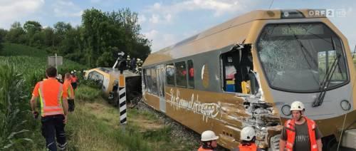 Austria, deraglia un treno: almeno due feriti gravi