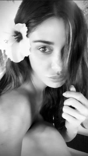 Belen Rodriguez nuda su Instagram 5