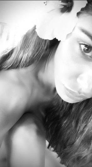 Belen Rodriguez nuda su Instagram 3