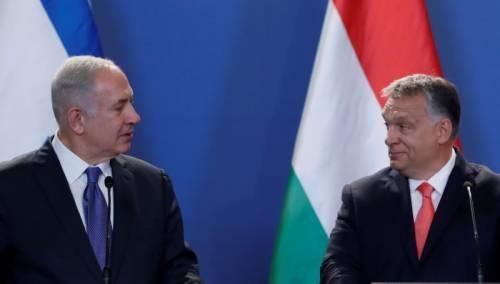 Visita di Orban in Israele: ong in rivolta per la scelta di Netanyahu