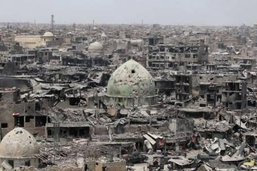 Concerto di musica tra le rovine di Mosul