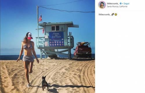 Elisabetta Canalis in costume su Instagram 7