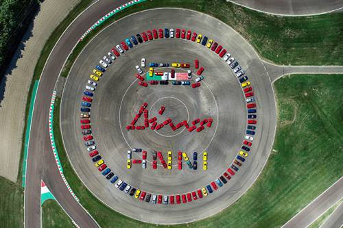 Maranello celebra i 50 anni della Ferrari Dino