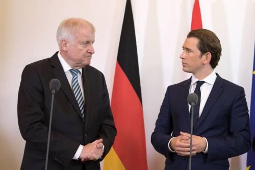 """Berlino e Vienna si coalizzano: """"In 48 ore riportiamo i migranti in Italia"""""""