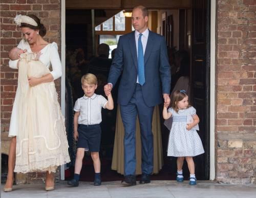 Battesimo Principe Louis: George e Charlotte sono protagonisti