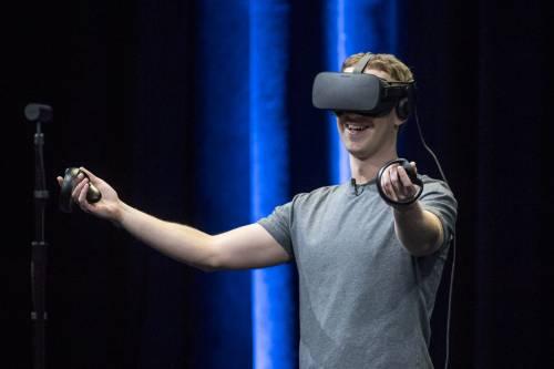 Facebook punta tutto sulla Virtual Reality