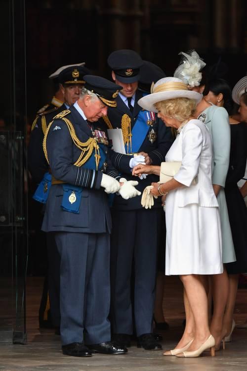 Meghan Markle e Kate Middleton al centenario del Raf 4